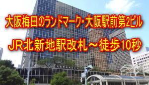 バーチャルオフィス 大阪 梅田 格安のルミエ 大阪 梅田店(1ケ月無料)外観