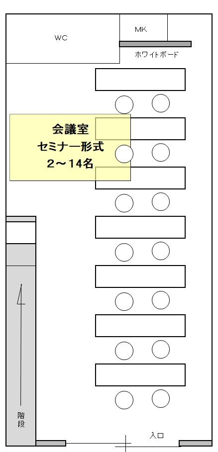 神戸バーチャルオフィス会議室・セミナー形式