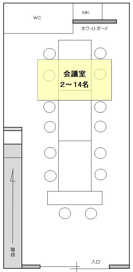 神戸バーチャルオフィス会議室