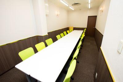 大阪 梅田の格安 貸し会議室はルミエ 大阪 梅田 貸し会議室会議形式