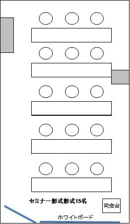 大阪 梅田の格安 貸し会議室はルミエ 大阪 梅田 貸し会議室セミナー形式05