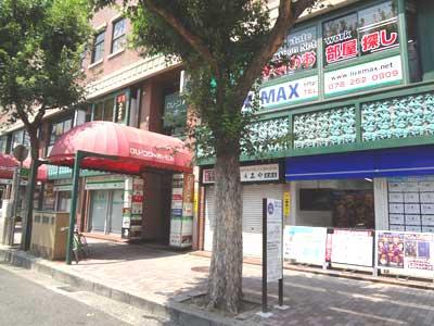 自習室 三宮、三宮2号店、ルミエ自習室の外観入口