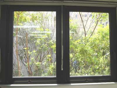 自習室 三宮、三宮1号店、ルミエ自習室の窓