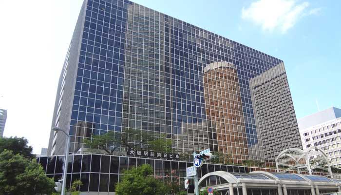 バーチャルオフィス大阪・大阪梅田ルミエ2号店の外観
