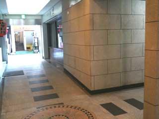 自習室 三宮、三宮2号店、ルミエ自習室の1階入り口